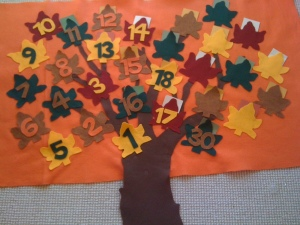 Susie's thanksgiving tree