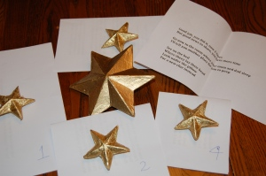 follow the star scavenger hunt