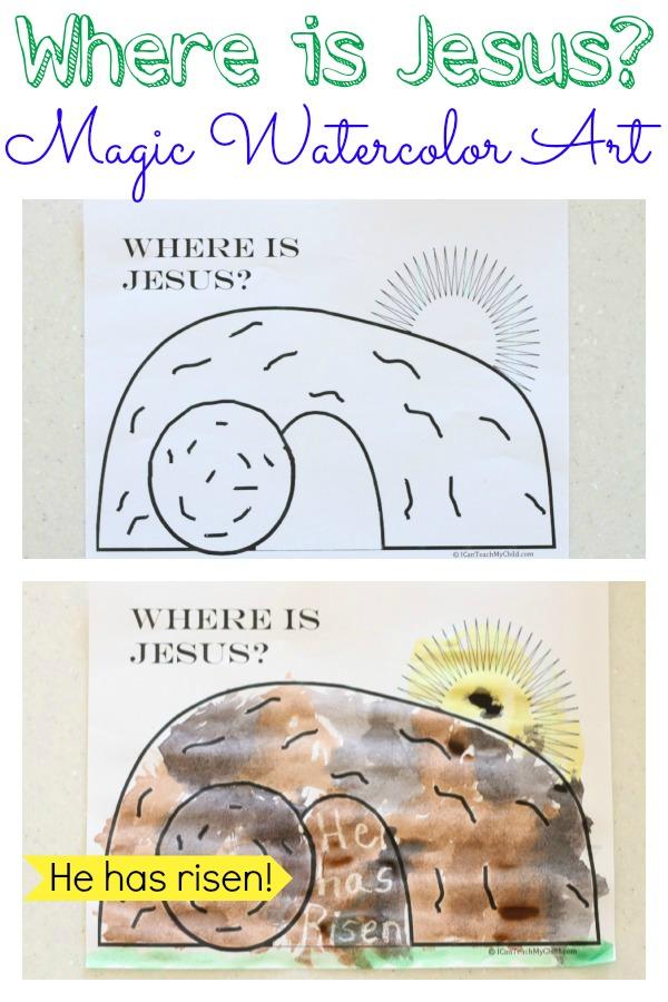 Where-is-Jesus-Magic-Watercolor-Art