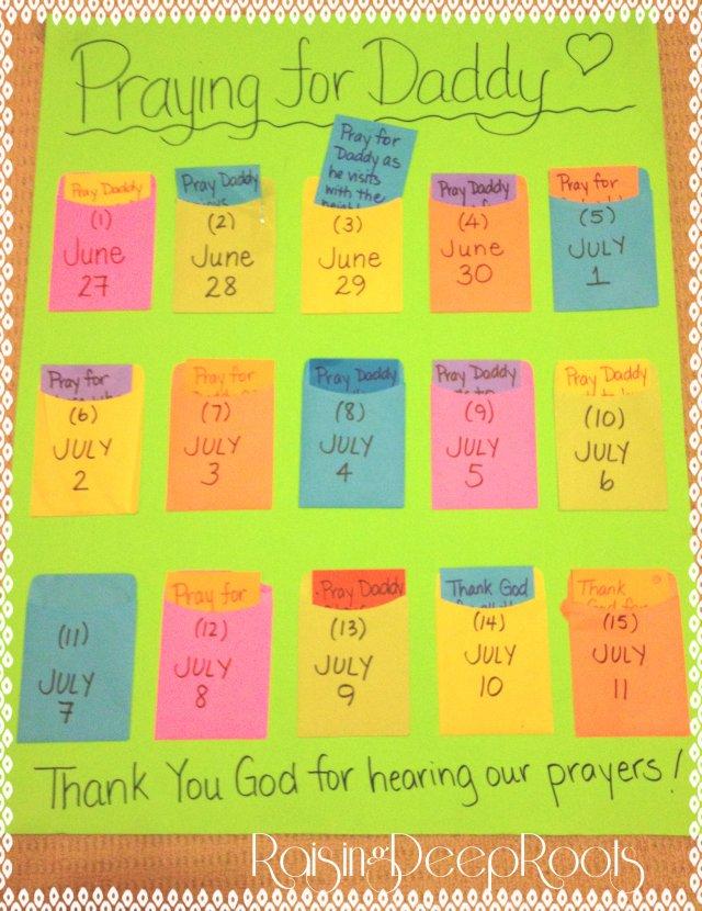 prayer calendar